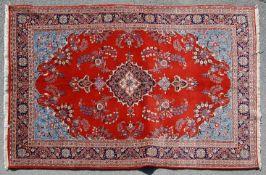 20TH CENTURY ANTIQUE PERSIAN ISLAMIC SAROUK CARPET RUG