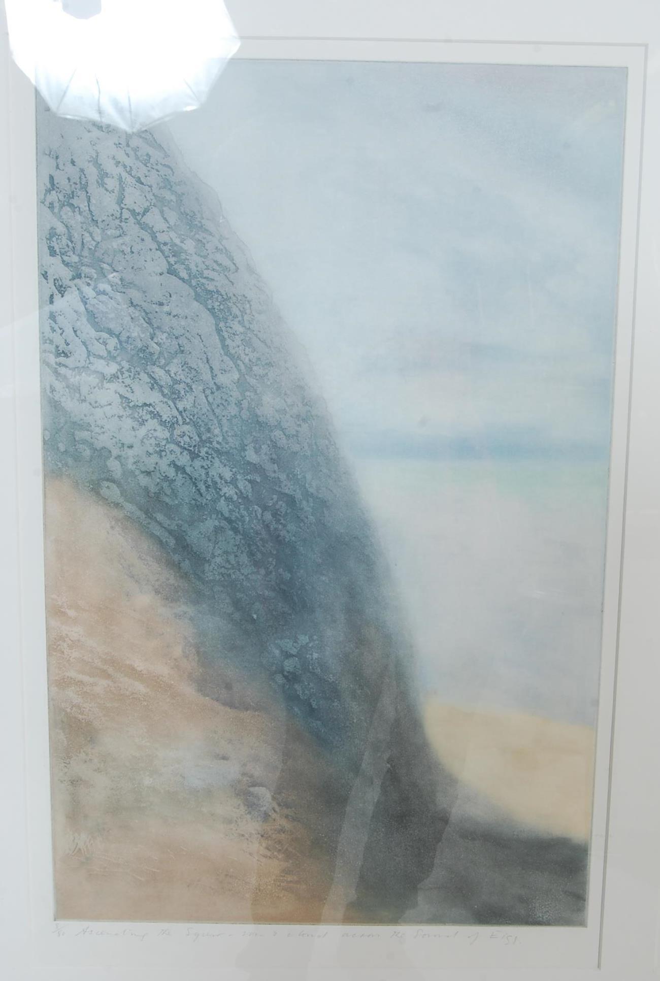 DEREK WILKINSON (BRITISH 1921-2001) 20TH CENTURY WATERCOLOUR SEASCAPE - Image 2 of 7