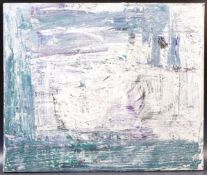FRANCES BILDER - MODERN ART - ABSTRACT CLOUDY DAY PAINTING