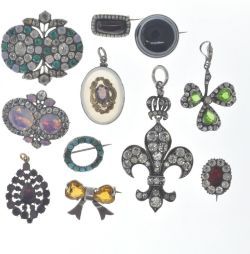 July Antiques and Collectables - Selected Jewellery Gold & Silver Auction