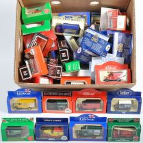LARGE COLLECTION OF LLEDO DIECAST MODEL VEHICLES