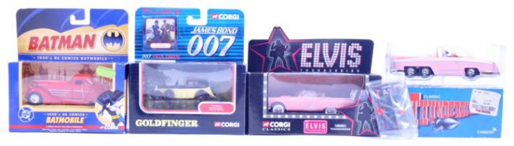COLLECTION OF CORGI TV & FILM RELATED DIECAST MODEL CARS