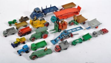 COLLECTION OF X20 ASSORTED VINTAGE DIECAST MODEL VEHICLES