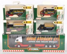 COLLECTION OF X5 EDDIE STOBART RELATED DIECAST MODELS