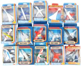 COLLECTION OF X15 MATCHBOX SKYBUSTERS DIECAST MODEL AEROPLANES