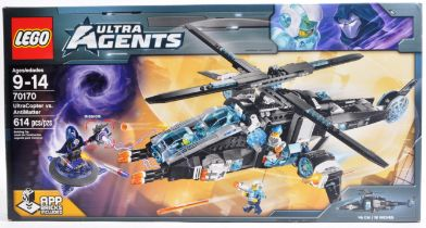 LEGO SET - ULTRA AGENTS - 70170 - ULTRA COPTER VS ANTIMATTER