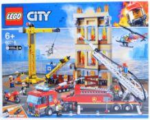 LEGO SET - LEGO CITY - 60216 - DOWNTOWN FIRE BRIGADE