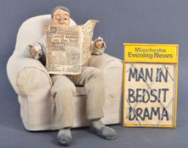 AARDMAN ANIMATIONS - MANCHESTER EVENING NEWS - SCREEN USED PUPPET