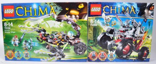 LEGO SETS - LEGENDS OF CHIMA - 70004 / 70132