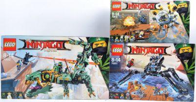 LEGO SETS - NINJAGO MOVIE - 70610 / 70611 / 70612