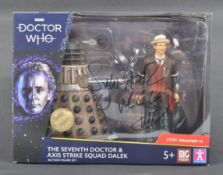 DOCTOR WHO - SYLVESTER MCCOY - AUTOGRAPHED ACTION FIGURE
