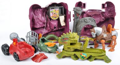 COLLECTION OF VINTAGE MOTO MASTERS OF THE UNIVERSE PLAYSETS