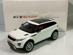 GT AUTOS 1/18 SCALE RANGE ROVER EVOKE DIECAST MODEL