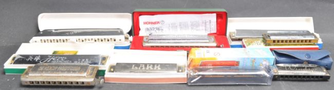 COLLECTION OF VINTAGE MOUTH ORGANS / HARMONICAS