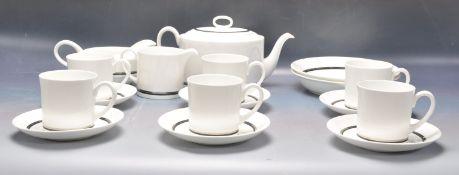 RETRO VINTAGE 20TH CENTURY SUSIE COOPER CHARISMA TEA SERVICE