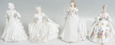 COLLECTION OF VINTAGE 20TH CENTURY CERAMIC PORCELAIN FIGURINES