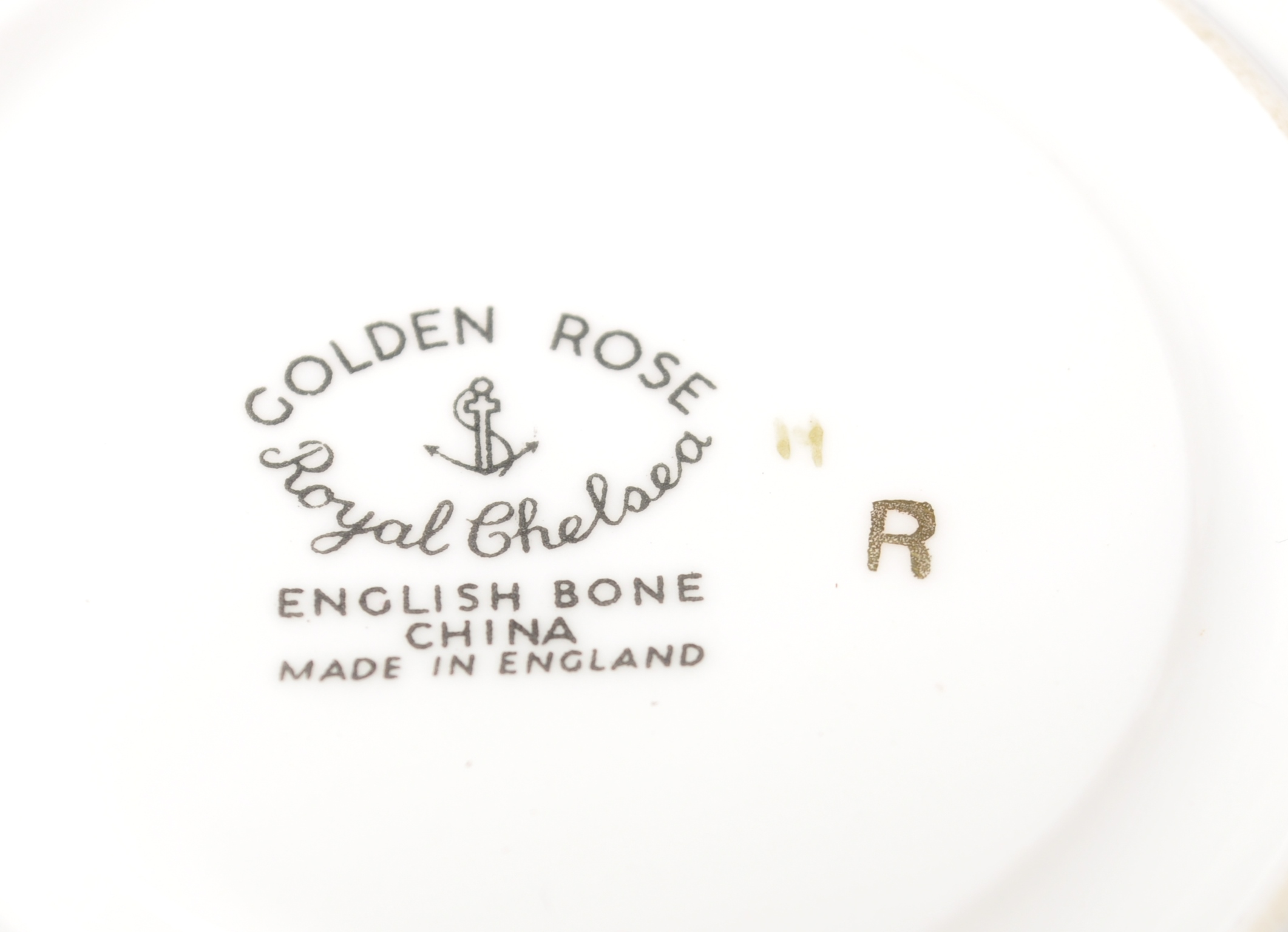 COLLECTION OF 20TH CENTURY ROYAL CHELSEA ENGLISH ROSE CHINA - Image 7 of 7