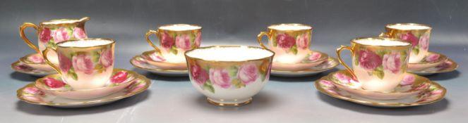 20TH CENTURY ROYAL ALBERT CROWN CHINA TEA SET