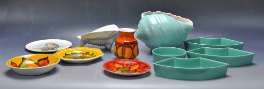 COLLECTION OF VINTAGE POOLE POTTERY CERAMIC PORCELAIN WARE