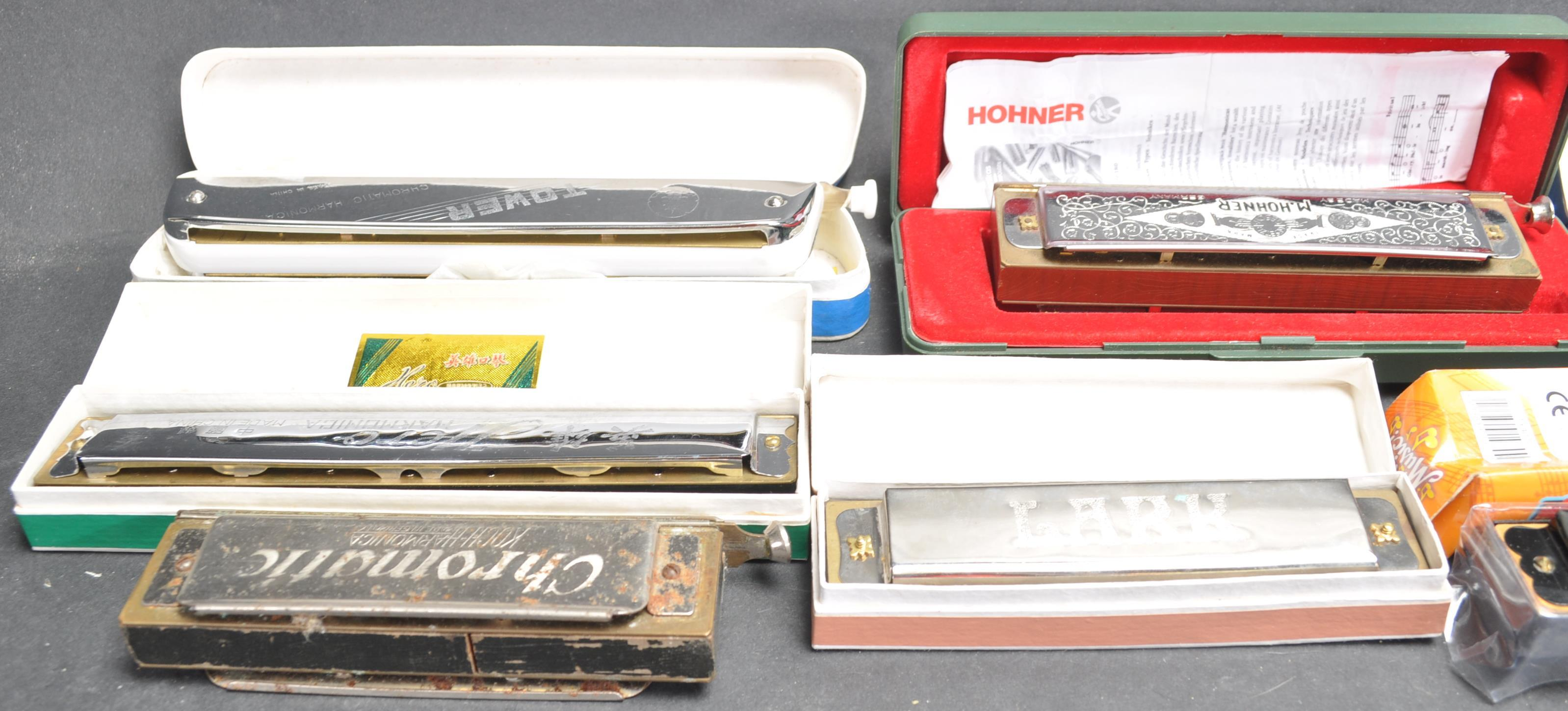 COLLECTION OF VINTAGE MOUTH ORGANS / HARMONICAS - Image 6 of 7