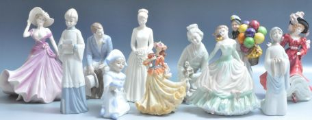 COLLECTION OF VINTAGE 20TH CENTURY CERAMIC FIGURINES