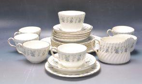 MINTON ALPINE SPRING CHINTZ PATTERN PORCELAIN TEA SET