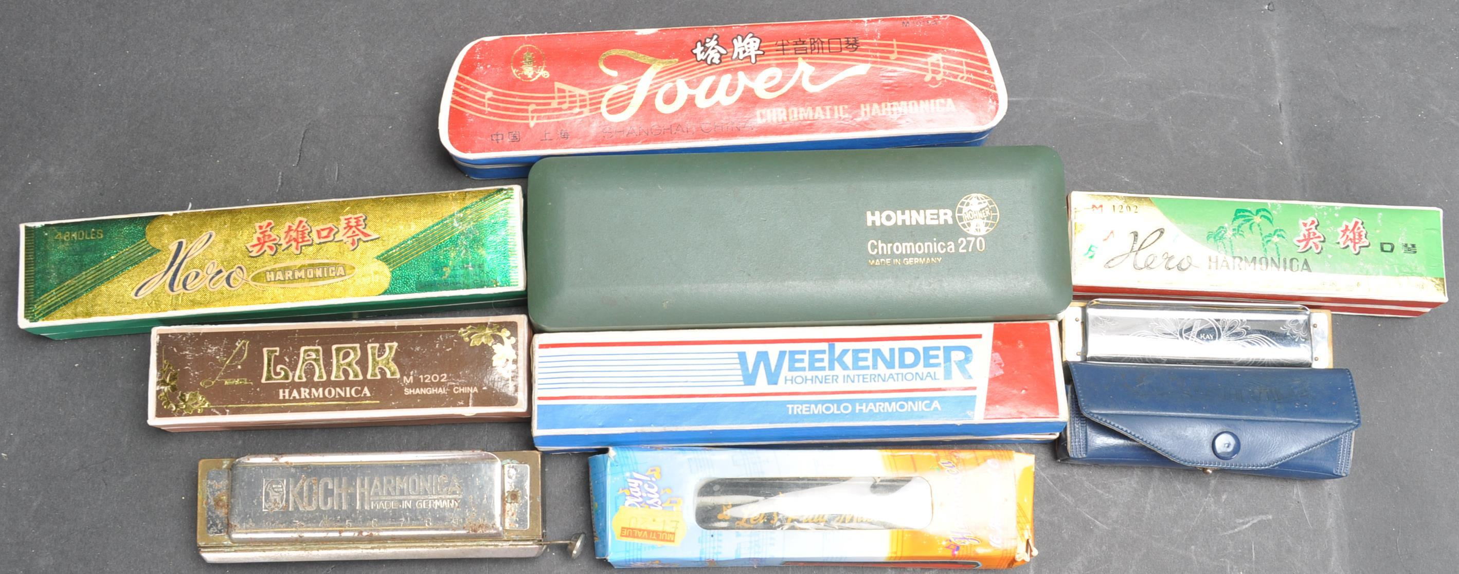 COLLECTION OF VINTAGE MOUTH ORGANS / HARMONICAS - Image 7 of 7