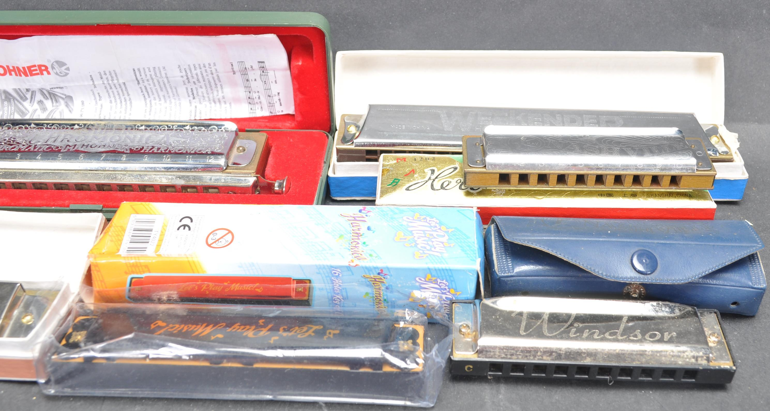 COLLECTION OF VINTAGE MOUTH ORGANS / HARMONICAS - Image 3 of 7