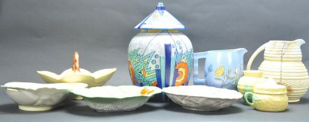 COLLECTION OF EARLY 20TH CENTURY ART DECO CERAMICS
