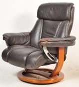 CONTEMPORARY STRESSLESS STYLE RECLINING ARMCHAIR