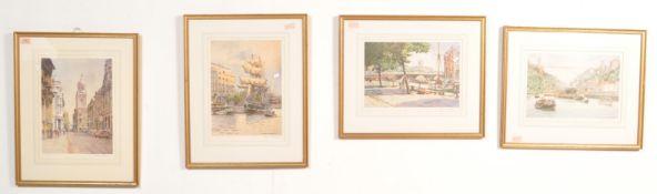FRANK SHIPSIDES (1908-2005) FOUR PRINTS