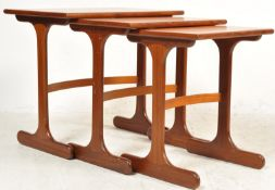 1960'S G PLAN TEAK WOOD NEST OF TABLES