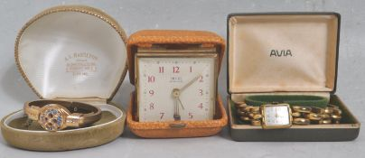 COLLECTION OF VINTAGE 20TH CENTURY WATCHES