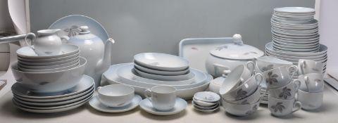 20TH CENTURY CERAMIC PORCELAIN DINNER SERVICE BY KJOBENHAVN