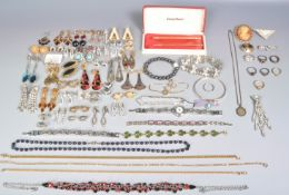 LARGE COLLECTION OF COSTUME JEWELLERY