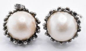 RING AND PENDANT HALF PEARL JEWELLERY SUITE