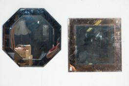 CONTEMPORARY FRAMELESS MIRROR GLASS WITH ANOTHER