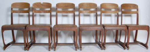 COLLECTION OF RETRO VINTAGE INDUSTRIAL DINING CHAIRS