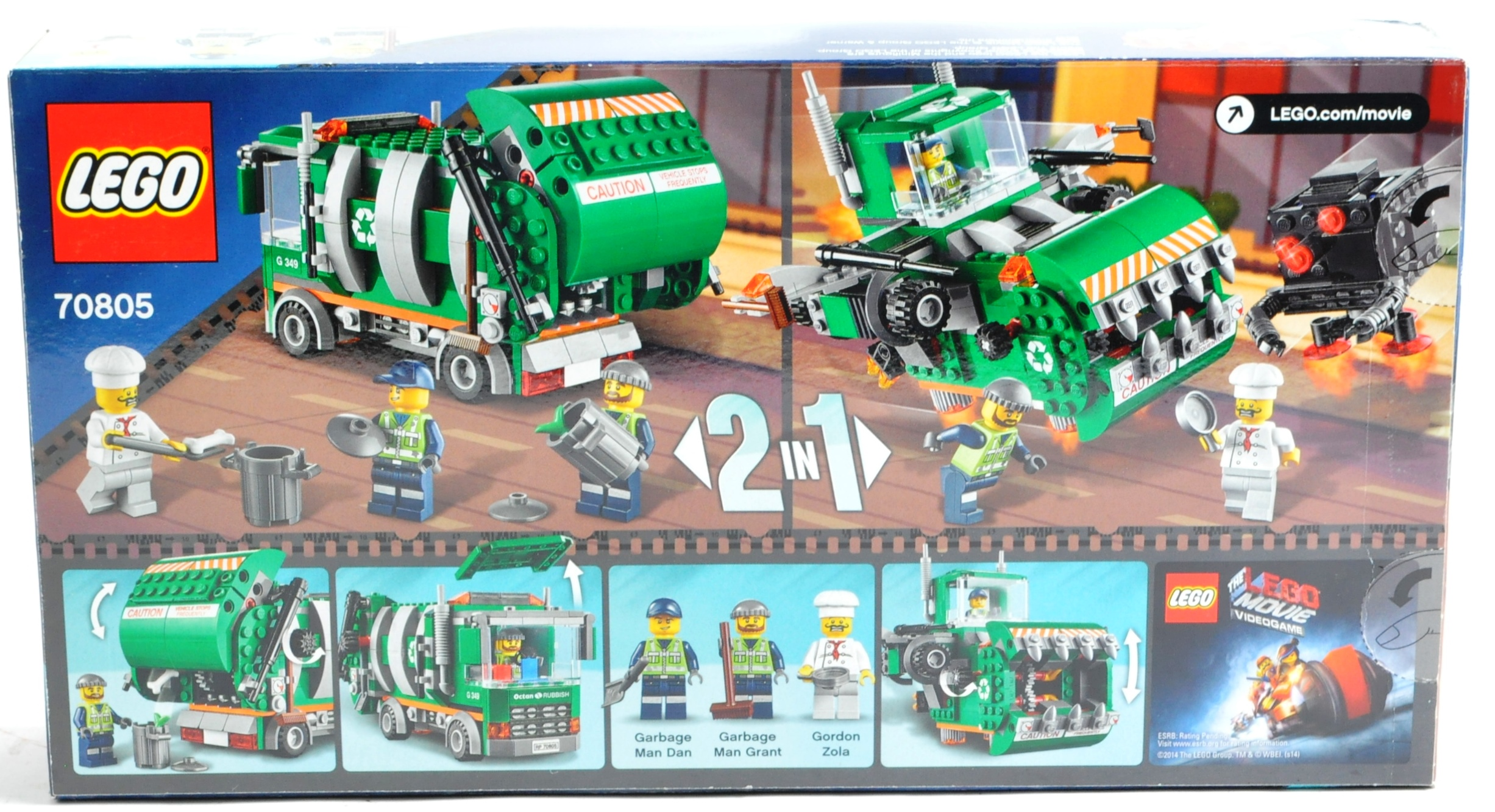 LEGO SETS - THE LEGO MOVIE - COLLECTION OF X7 LEGO MOVIE SETS - Image 14 of 17