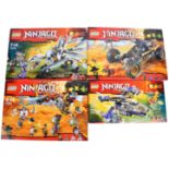 LEGO SETS - LEGO NINJAGO - 70589 / 70592 / 70746 / 70748