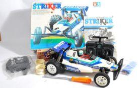 TAMIYA - SCARCE VINTAGE 1/10TH SCALE ' STRIKER ' RC CAR