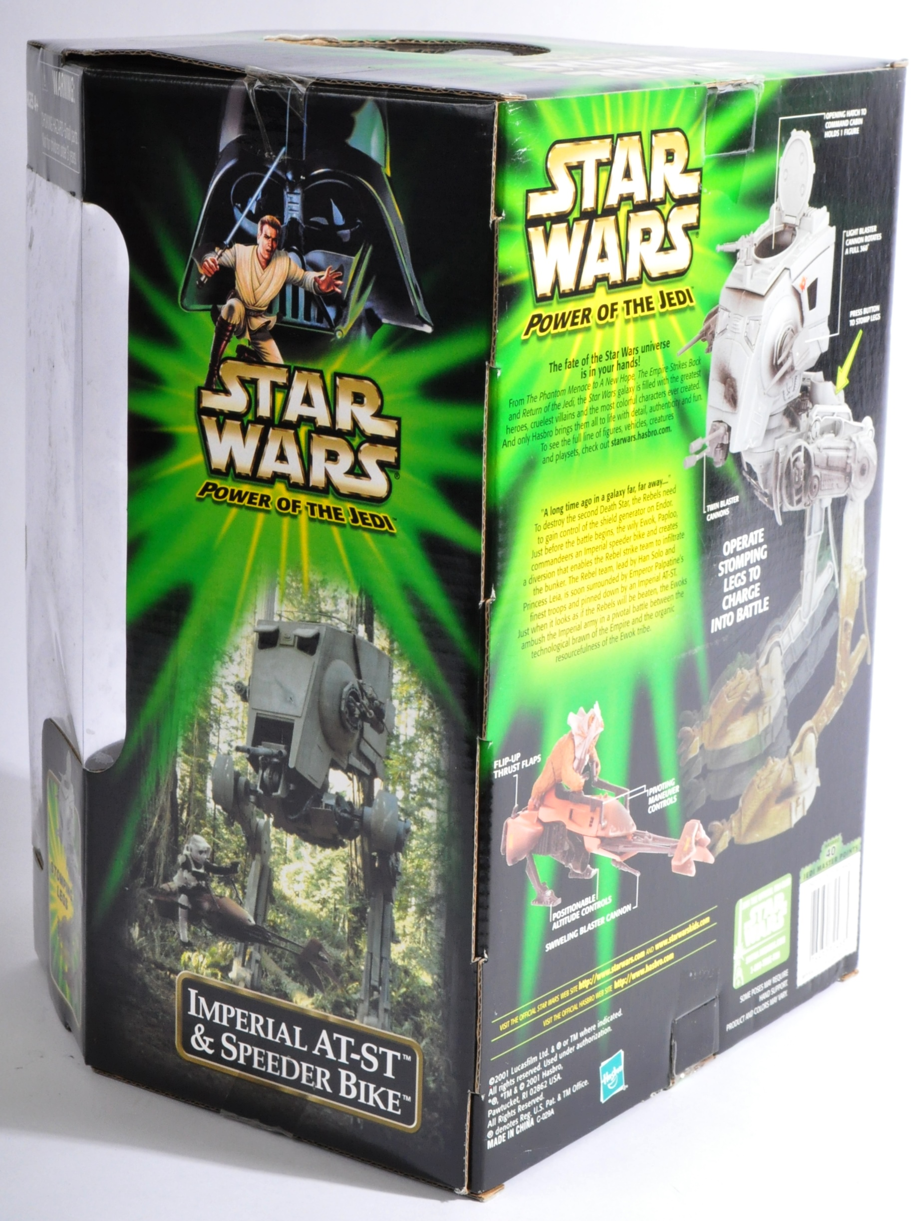 STAR WARS - HASBRO POWER OF THE JEDI ACTION FIGURE PLAYSET - Image 2 of 3