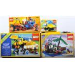 LEGO SETS - LEGOLAND & LEGO SYSTEM - 6038 / 6260 / 6507 / 6481