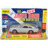 ORIGINAL VINTAGE CORGI TOYS JAMES BOND ASTON MARTIN DB5