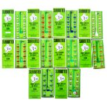 COLLECTION OF X10 ASSORTED VINTAGE SUBBUTEO FOOTBALL TEAMS