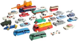 COLLECTION OF ASSORTED VINTAGE DINKY AND CORGI TOYS DIECAST