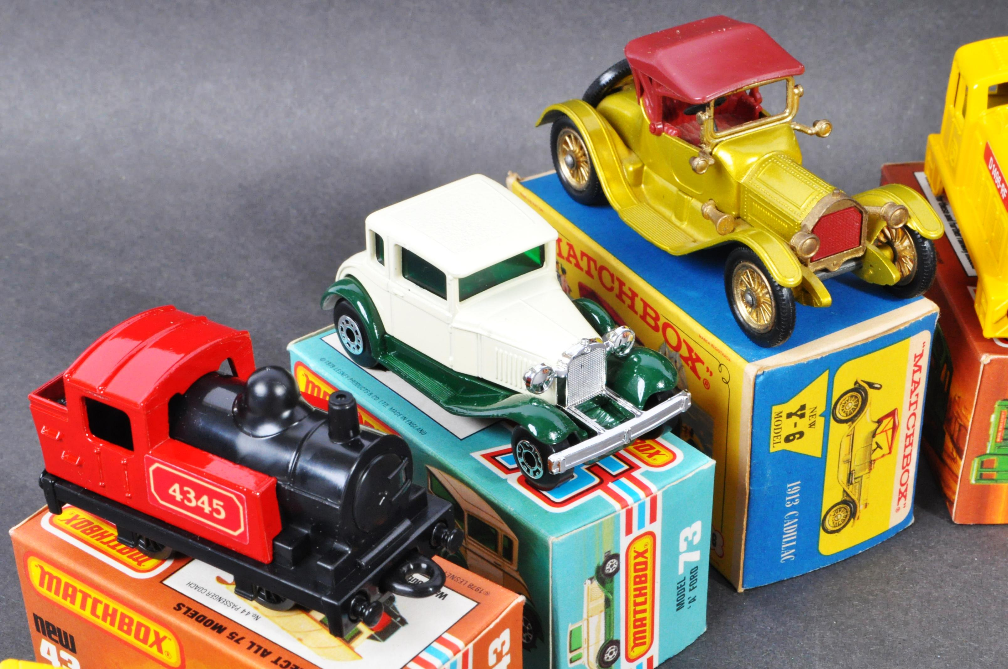 COLLECTION OF X10 ASSORTED MATCHBOX DIECAST MODELS - Image 3 of 6