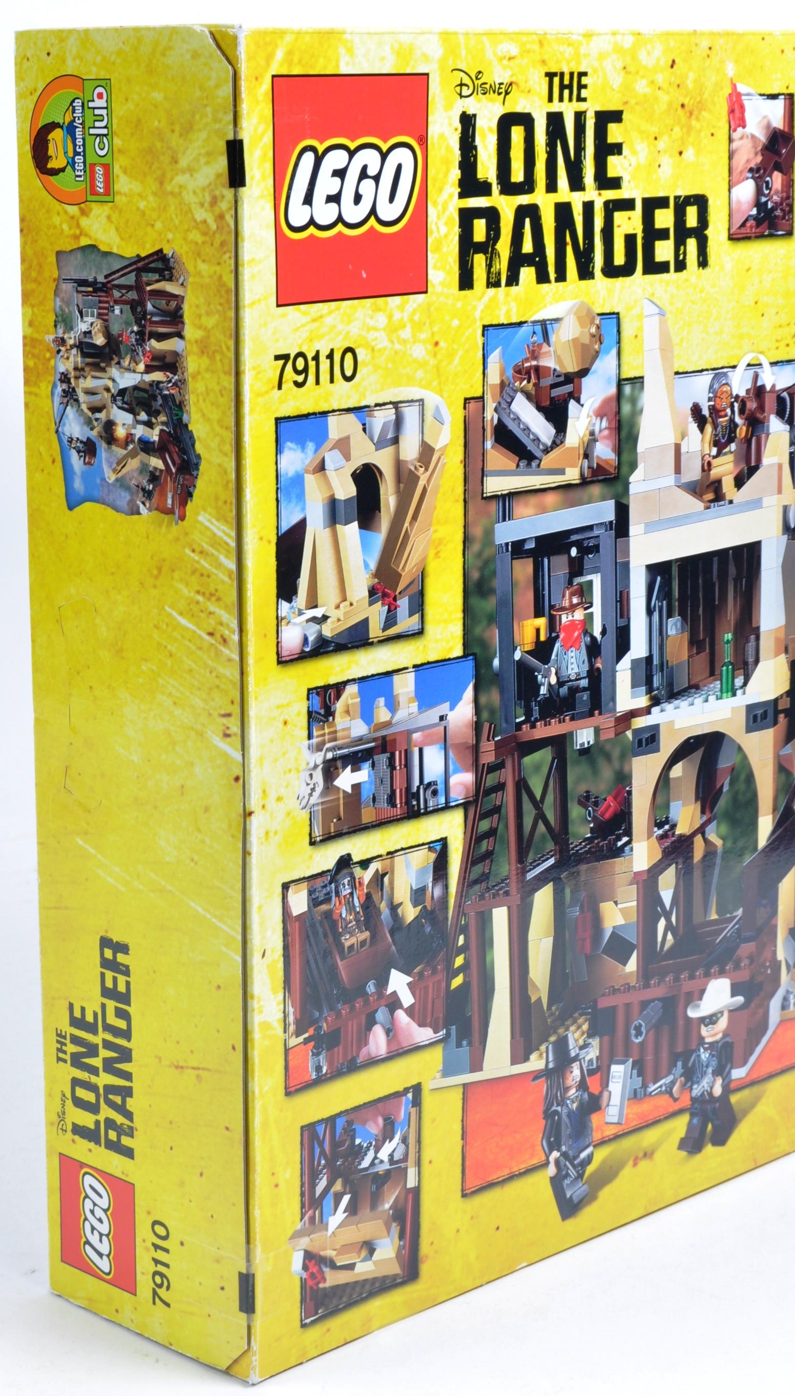 LEGO SET - THE LONE RANGER - 79110 - SILVER MINE SHOOTOUT - Image 4 of 4