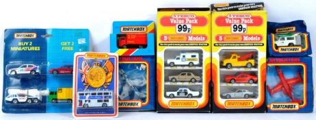 COLLECTION OF X8 ASSORTED MATCHBOX DIECAST MODELS