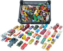 LARGE COLLECTION OF ASSORTED VINTAGE DIECAST MODEL CARS